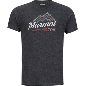 Marmot M's Beams SS Tee Charcoal Heather